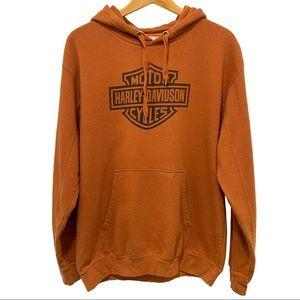 Harley Davidson Orange Hoodie
